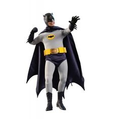Batman1966 Hot Toys Movie Masterpiece 1/6 Scale Collectible Figure Batman by Hot Toys @ niftywarehouse.com