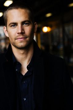 Paul Walker. Cannot wait for Fast & Furious 6.