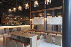 Bar at Bibigo, Central Design Studio