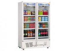Expositor/Refrigerador Vertical 2 Portas 637L - Frost Free Gelopar GRVC-950BR com as melhores condições você encontra no Magazine Offmix. Confira!