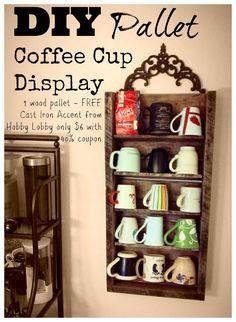 Starbucks Quot You Are Here Quot Mug Holder Display Rack It Holds 25 Mugs Starbucks Mugrack