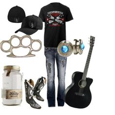 Brantley concert next month. Outfit idea? I think so. :)