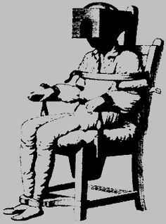 """Benjamin Rush, the """"father of American psychiatry,"""" theorized that insanity was caused by """"morbid"""" qualities in the blood, leading him to conclude that as much as """"four-fifths of the blood in the body"""" should be drawn away; Rush bled one patient 47 times, removing four gallons of blood over time. He also strapped patients horizontally to a board and spun them around at great speeds.  He confined others in his """"Tranquilizer Chair' that completely ..."""