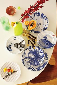From the Deep Dinnerware - Anthropologie