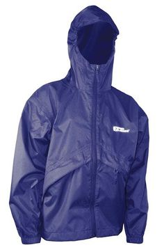 When the rain won't go away, don't let it stop you from having fun at camp! Be prepared with your Thunderlight Rain Jacket. Its lightweight nylon taffeta shell has a durable water repellent finish that's sure to keep you dry. The jacket has an attached hood with visor and zip pockets. The jacket stores in its own left pocket or in the provided stuff sack too, making it easy to take along on a hike or an overnight camp out. Rain Gear, Rainy Days, Rain Jacket, Trunks, Windbreaker, Raincoat, Shell, Youth, Pockets