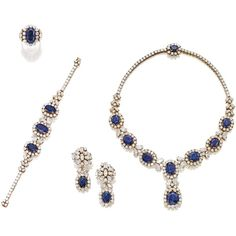 suite of jewels | sotheby's n09054lot76q6den ❤ liked on Polyvore featuring jewelry, necklaces, earrings, bracelets, rings, jewels jewelry and wine jewelry