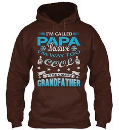 I'm Called Papa Hot Chocolate Sweatshirt Front