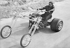 Not a bike and not a trike its a ? Oh, c'mon, like you've never seen a motorcycle chariot before?!: