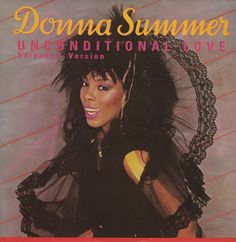 """Donna Summer, Unconditional Love, UK, Deleted, 12"""" vinyl single (12 inch record / Maxi-single), Phonogram, DONNA212, 26345"""