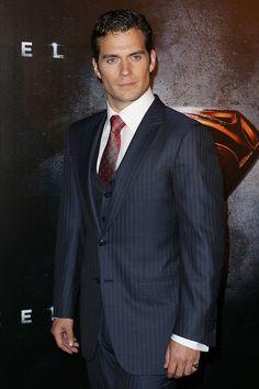 "Henry Cavill arrives at the ""Man Of Steel"" Australian premiere on June 24, 2013 in Sydney, Australia."