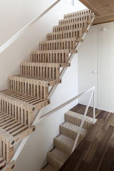 Jun Yashiki & Associates 3 is part of Interior stairs - Jun Yashiki & Associates Photograph by Hiroyuki Hirai Interior Stairs, Interior Architecture, Interior Design, Stairs Architecture, Basement Stairs, House Stairs, Open Basement, Basement Ideas, Porch Stairs