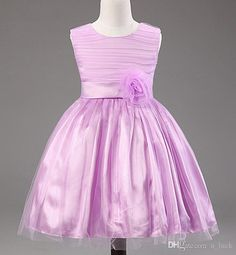 2015 Newest Children Dresses for Girls Kids Party Evening Dresses for Girls Women Girl Pageant Dresses Flower Girls Dance Dresses Bownot Online with $9.43/Piece on U_luck's Store | DHgate.com#dhgatepin