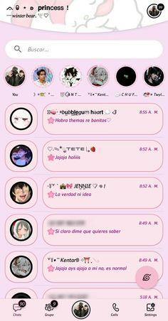 Whatsapp Theme, Whatsapp Plus, Aesthetic Names, Emo, Phone Themes, Phone Organization, Cute Patterns Wallpaper, Apps, Homescreen