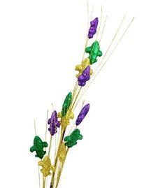PGG Glitter Fleur de Lis Spray: 30