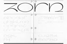 Zorn profits from a combination of the digital and manual design process New Pen, Small Case, Behance, Printed Matter, Jobs Apps, Freelance Graphic Design, Type Design, 3d Design, Logo Design