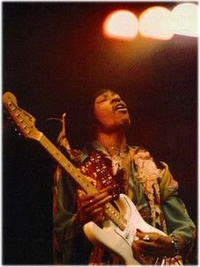 Jimi Hendrix  A shot I've never seen!