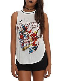 HOTTOPIC.COM - Marvel Action Girls Muscle Top