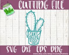 Can't Touch This svg Cactus svg funny svg trendy cute succulent plant svg dxf eps Silhouette Cricut Cutting File Digital Download Image Font, Cant Touch This, Vinyl Monogram, Toy Craft, Silhouette Cameo, Cutting Files, Cactus, Clip Art, Thing 1