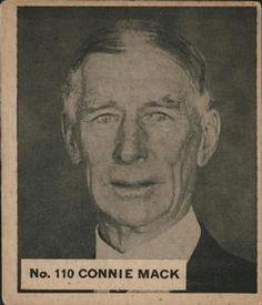 3119b61524 1936 World Wide Gum Connie Mack Front · Sport 2Baseball CardsGoats