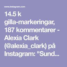 "14.5 k gilla-markeringar, 187 kommentarer - Alexia Clark (@alexia_clark) på Instagram: ""Sunday Funday 1. 12 each side 2. 8 each side 3. 12 Reps 4. 12 Reps 3-4 rounds www.alexia-…"""