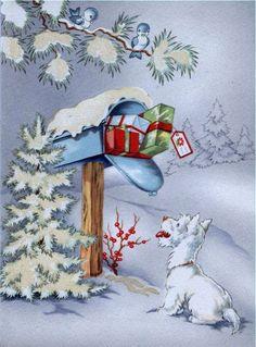 christmas-mail-vintage-christmas-cards