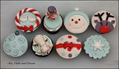 Tea, Cake & Create: Christmas Cupcakes and Sugar Pastes