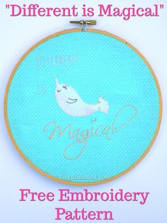 This free embroidery