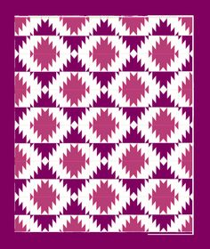 Delectable Mountains Lantern quilt I am making right now.