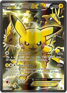 Pokemon Karten Pikachu Ex.Pikachu Ex Ultra Rare Full Holo Jolteon Electabuzz Art