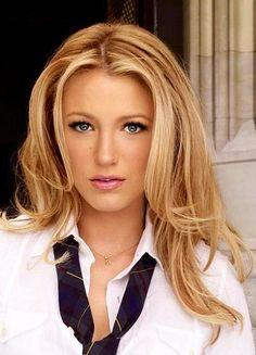 Love this blonde hair - Blake Lively - Serena van der Woodsen