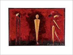 Heinz Felbermair - Untitled / M-4 (red)