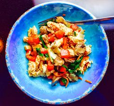 Food Fitness by Paige: Chicken Florentine with Mushrooms and Parmesan