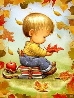 View album on Yandex. Baby Drawing, Manga Drawing, Fall Pictures, Cute Pictures, Gif Mignon, Cute Gifs, Animated Love Images, Baby Album, Fall Is Here