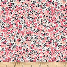 Liberty of London Classic Tana Lawn Wiltshire Pink Fabric By The Yard
