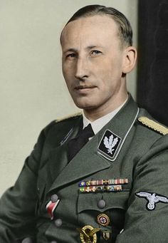 Reinhard Heydrich - a high-ranking German Nazi official during World War II, and one of the main architects of the Holocaust. Heydrich served as president of the International Criminal Police Commission (ICPC; later known as Interpol) and chaired the January 1942 Wannsee Conference, which formalised plans for the Final Solution to the Jewish Question—the deportation and genocide of all Jews in German-occupied Europe. Responsible for murdered over two million people, including 1.3 million…