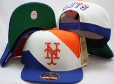 New York Mets Retro Snapback Cap Hat AN 2 Tone White Blue by American Needle. Save 76 Off!. $11.02. Brand new retro snapback cap. American Needle Embroidered team logos. Snapback design. One Size Fits Most.