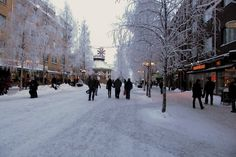 Storgatan fr. Hermelinsgatan, Lulea Sweden