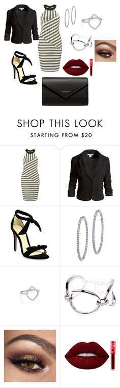 """Untitled #395"" by justbrandy79 on Polyvore featuring Miss Selfridge, Sans Souci, Alexandre Birman, BillyTheTree, Monica Vinader, Karen Millen, Lime Crime and Balenciaga"