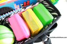 Road Trip Organization for preschoolers!  Great pair with tips for packing prep and in-car activities. I especially like the activity for letting kids track the trip progress.
