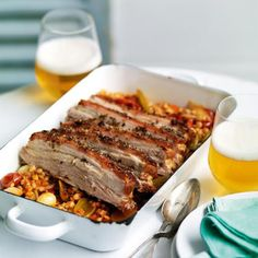 Our Roast Pork Belly with Vegetable and Barley Stew is the perfect rainy day dinner. Learn how to make this authentic and delicious dish by yourself! Cooking Tofu, Cooking Wine, Cooking Recipes, Cooking Barley, Barley Stew Recipe, Barley Recipes, How To Cook Barley, Pork Belly Recipes, Cooking Measurements