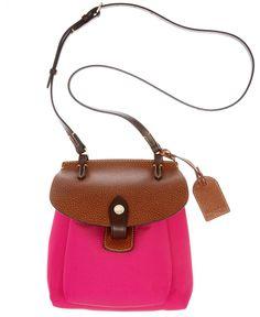 Dooney & Bourke Handbag, Small Nylon Pocket Crossbody   - VERY SPRING.
