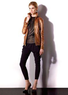 Nicolino Buyers Leather Jacket in Bronze - Nicolino - $1,375.00 - Swank Atlanta