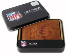 Green Bay Packers Leather Embossed Wallet Only $15.99! LOWEST PRICE!