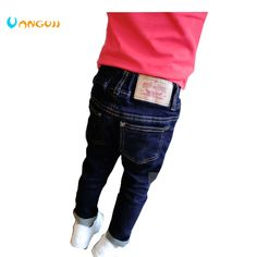 2016 autumn and winter hot boy fashion jeans washing slim trousers color standard