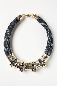rope necklace - Anthropologie  #bijoux #bijouxcreateur #bijouxfantaisie #jewelry #bijoux2016