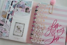 Webster's Pages Composition Planner- Happy Planner Hack! JM Creates Blog
