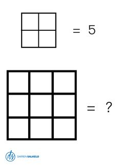 How Many Squares Can You See? I'm sure there are more, but