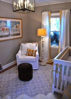Paint Color- Benjamin Moore Pashmina, for bedrooms. Curtains - Ikea   Beautiful! I love Benjamin Moore paint!