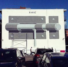 Escif New Mural In Montreal, Canada