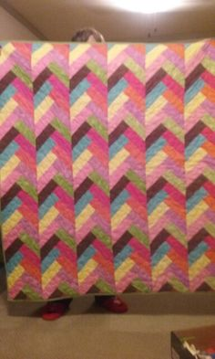 Another beautiful quilt made by Nancy!!